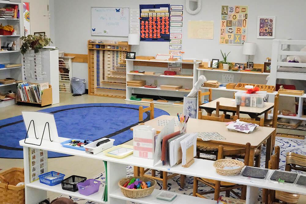 The Montessori Classroom | Hawk Meadow Montessori School